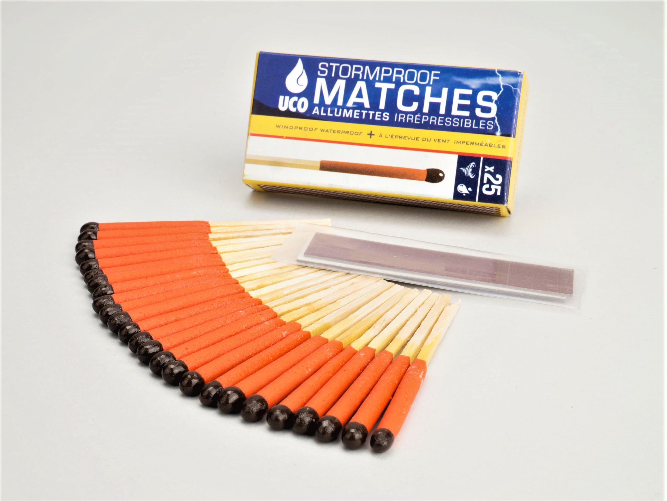 REAL STORMPROOF MATCHES € 5,95
